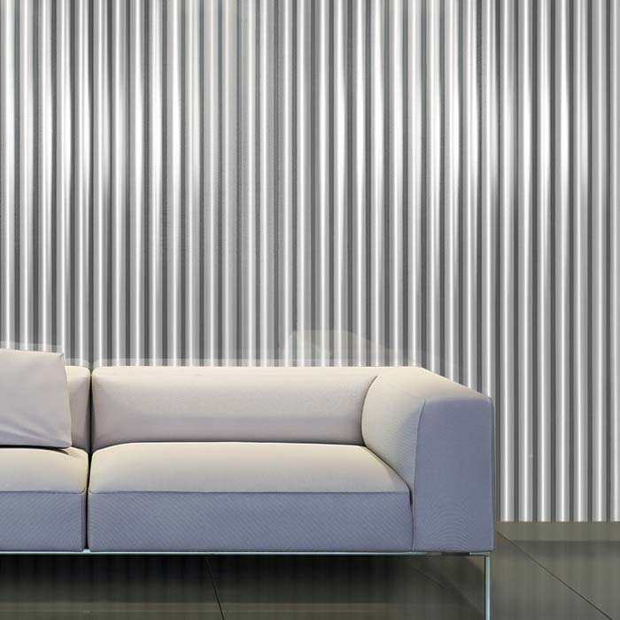 White Couch- CNC Pinstripe