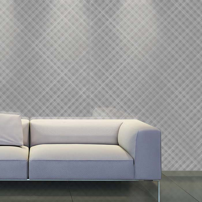 White Couch- CNC Rattan