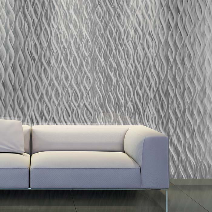 White Couch- CNC Waterfall