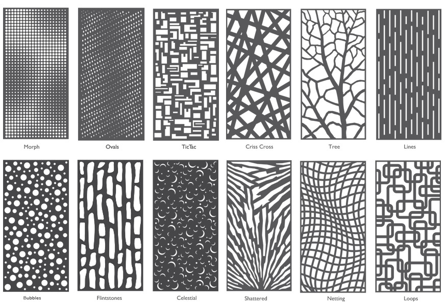 Laser Cut Metal Sheets Moz Designs Decorative Metal