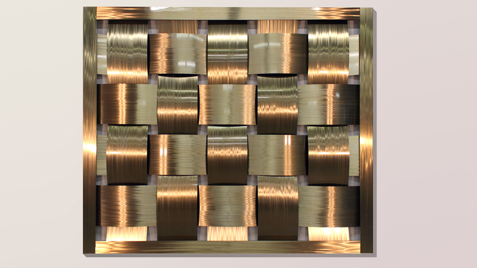 Basket Weave Wall Moz Designs Decorative Metal And