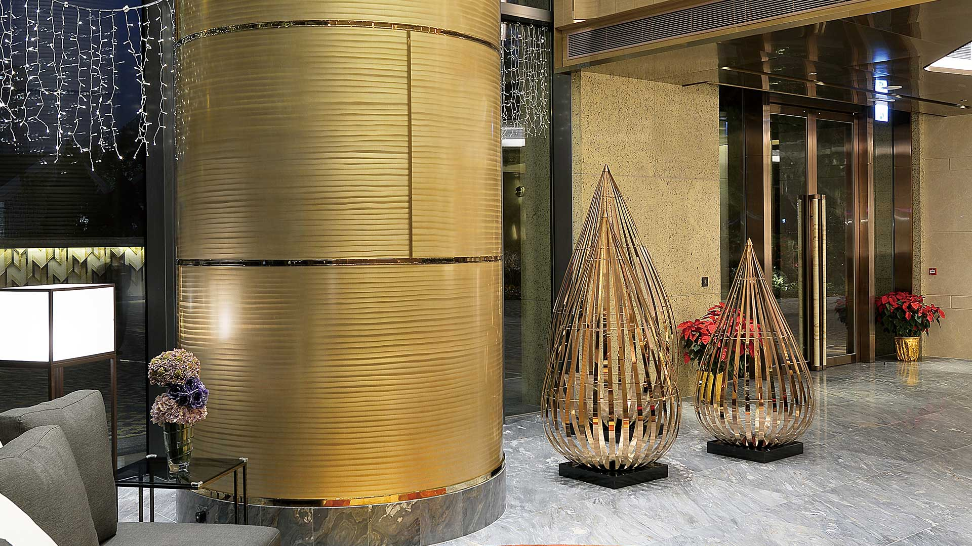 Moz designs decorative metal and architectural products for Decorative metal columns exterior