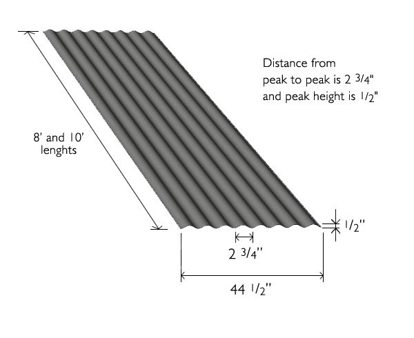 Corrugated Metal Sheets Moz Designs Decorative Metal