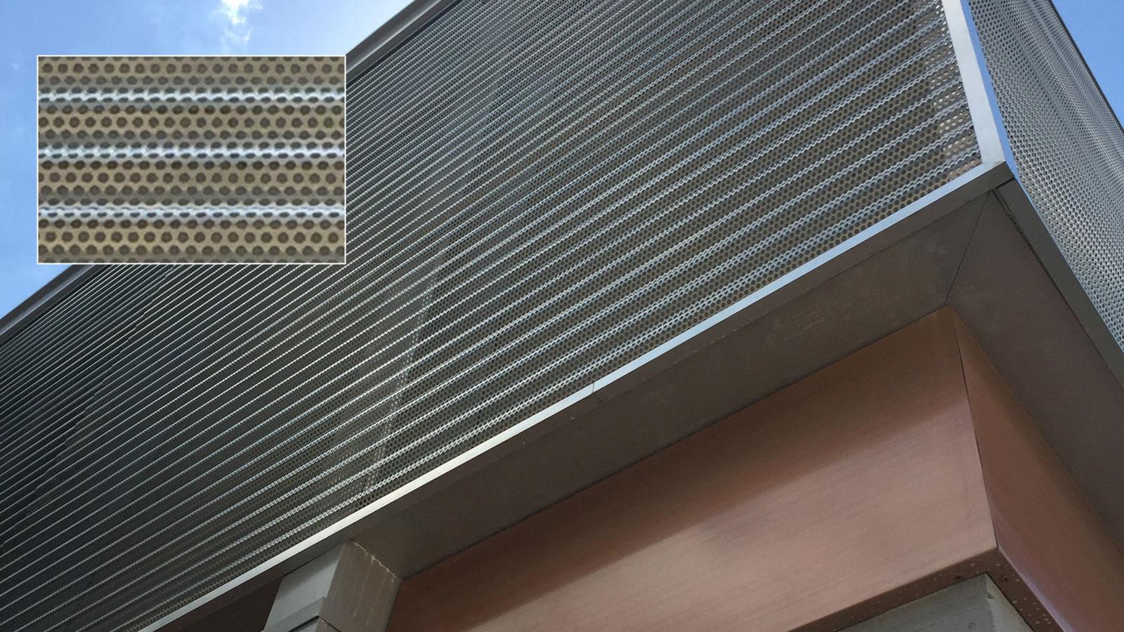 Corrugated Aluminum, Corporate, Exteriors, Moz Designer Metal