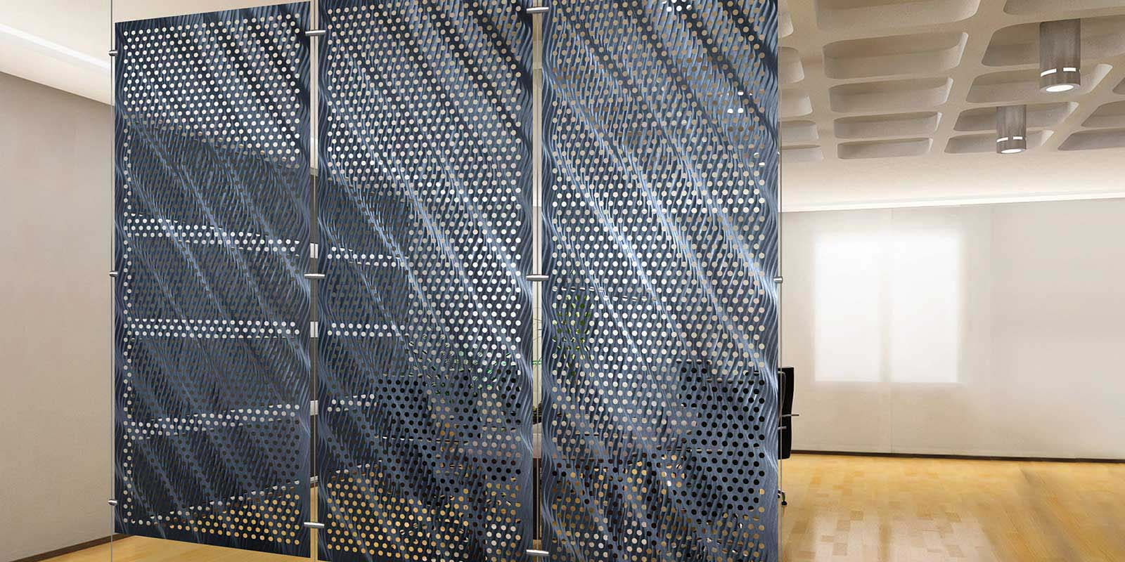 Room Seperator Room Dividers  Moz Designs  Decorative Metal And Architectural