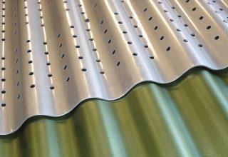 Corrugated Metal, Corrugated Aluminum, Corporate, Exteriors, Moz Designer Metal