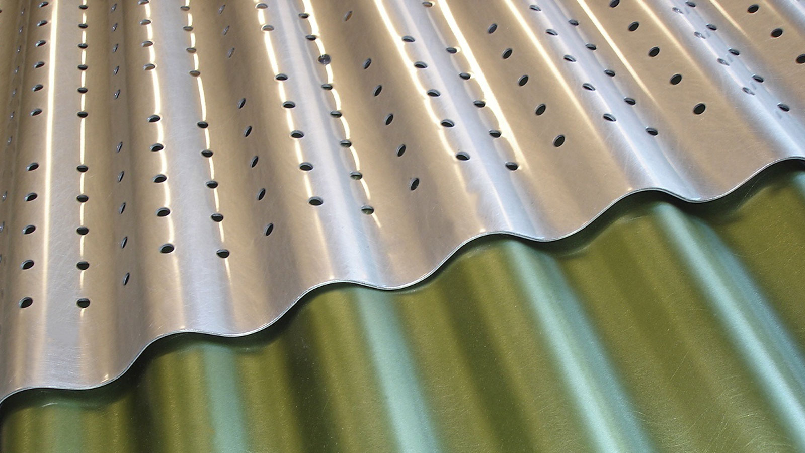 Perforated Aluminum, Corporate, Exteriors, Moz Designer Metal