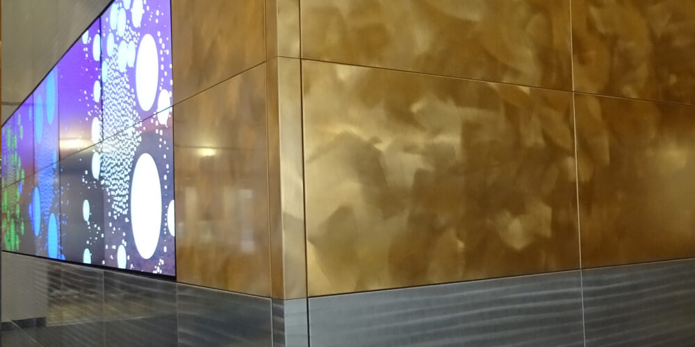 Keyway Panels, Moz Designer Metals, Institutional