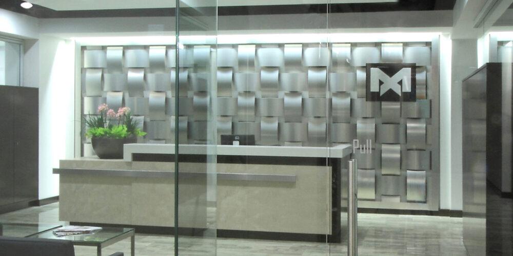 Basket Weave Wall system, Moz Designer Metals