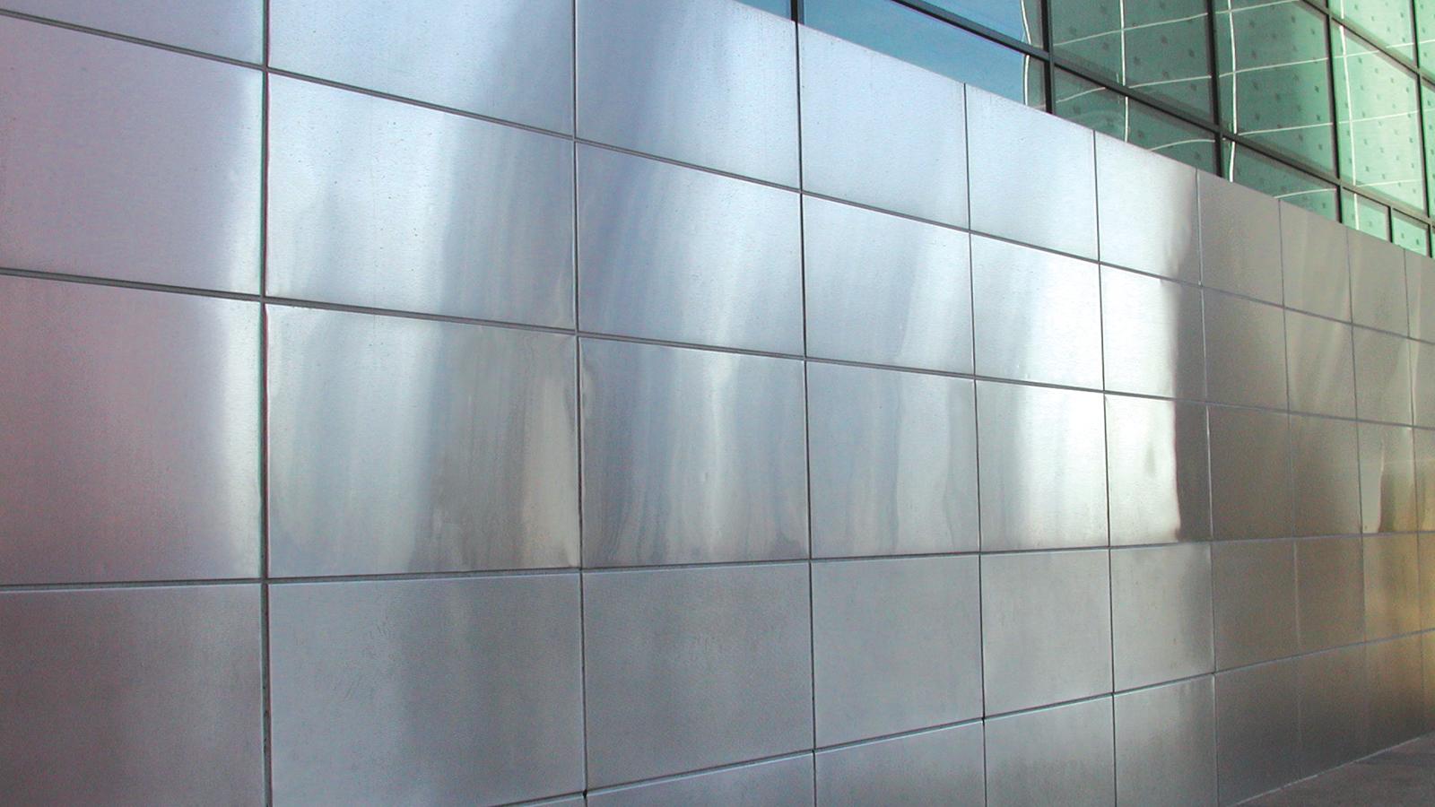 Moz Designer Metals, Keyway Wall Panels, Interior Design, Architecture