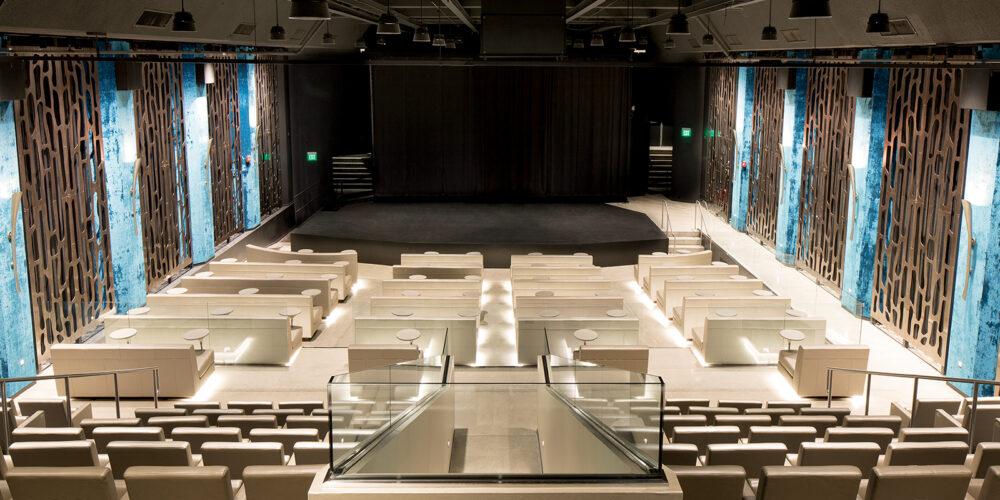 Metal Lasercut, Moz Desginer Metals, Theatre