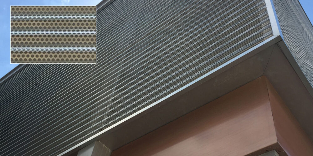 Corrugated Aluminum, Corporate, Exteriors, Moz Designer Metal