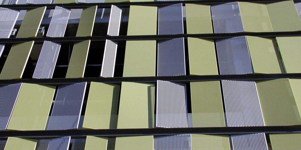 Perforated Metal, Exteriors, Palms Place