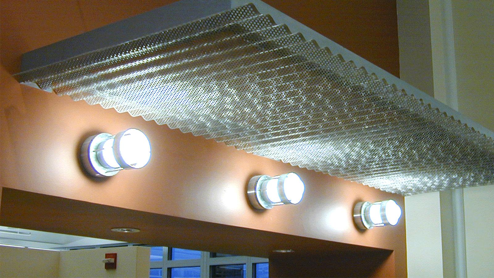 Moz Designer Metals, Ceiling Applications, Canopy Applications