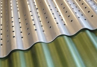 Corrugated Metal, Corrugated Aluminum, Corporate, Exteriors, Moz Designer Metal