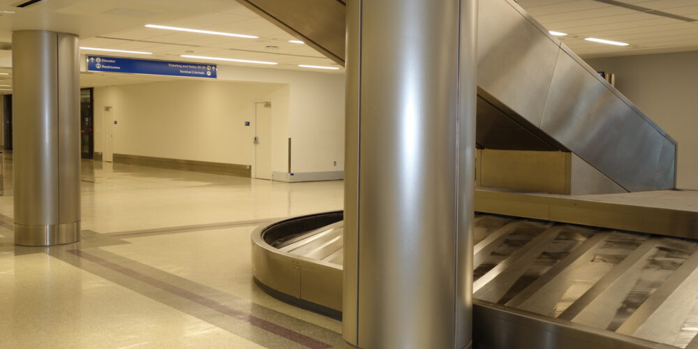 Stainless Steel Columns, Moz Designer Metal, LAX