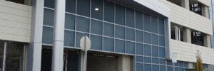 Moz Designer Metals, perforated metal sheets, exterior, garage