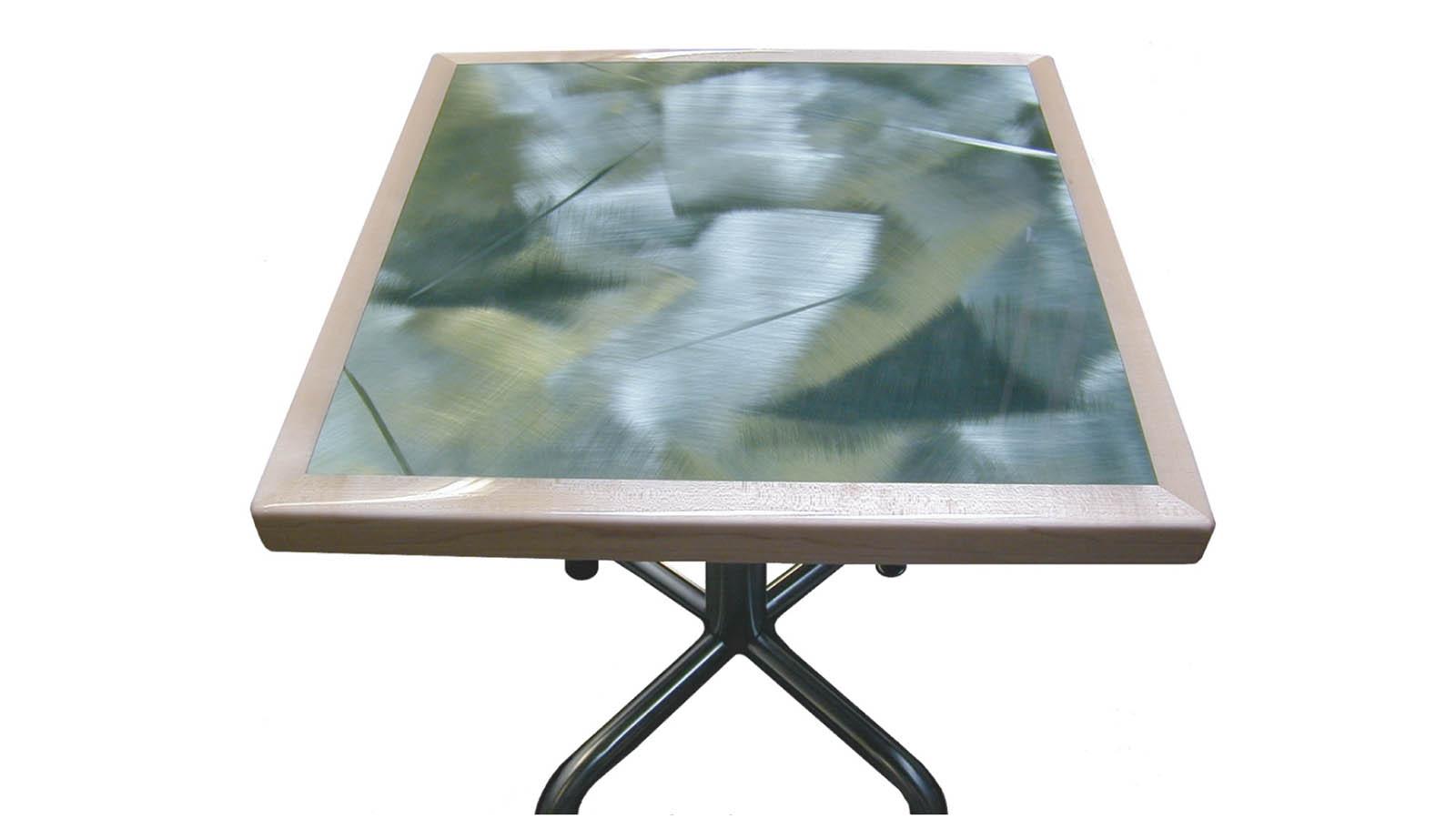 Moz Designer Metals, Table Tops, Aluminum, Decorative Metal