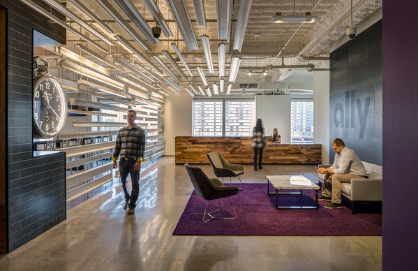 Ally Financial Moz Designs Decorative Metal And