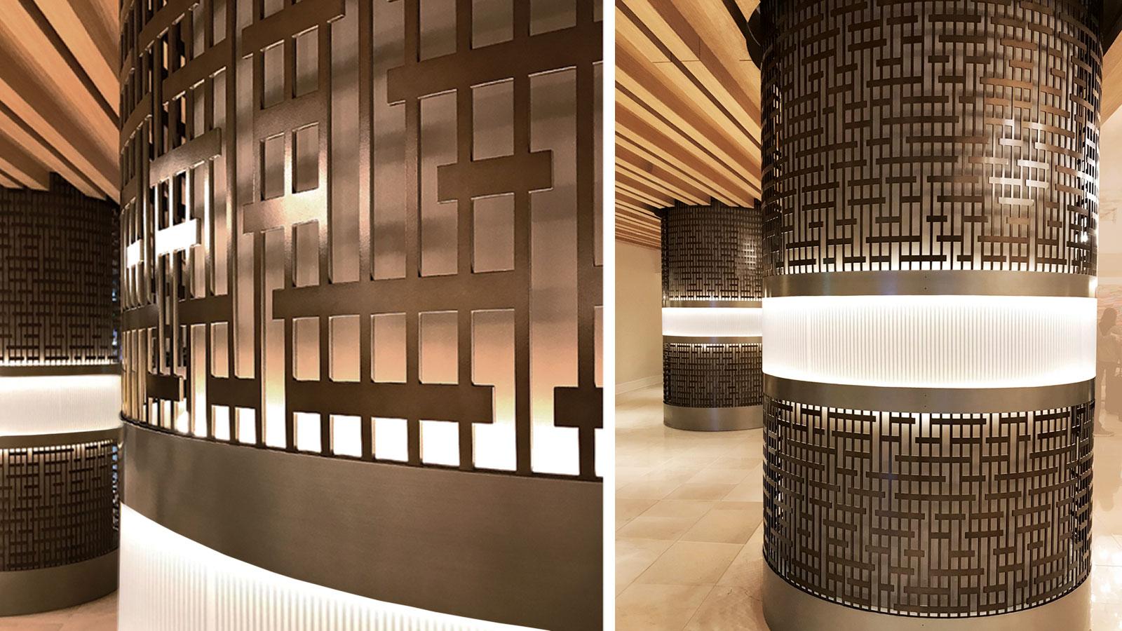 Round Columns Cc100 Moz Designs Decorative Metal And
