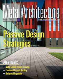 Metal Architecture | Aug 2018